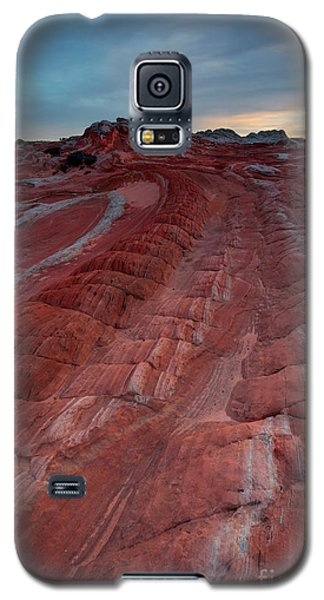 Red Ribbon Sunset Galaxy S5 Case