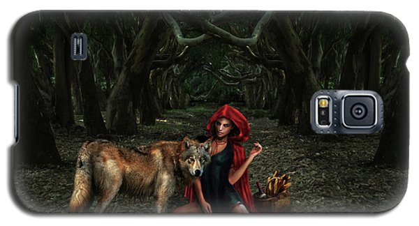 Red Riding Hood Galaxy S5 Case