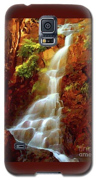 Red River Falls Galaxy S5 Case by Peter Piatt
