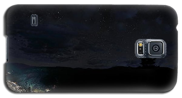 Red River Under Starry Skies Galaxy S5 Case