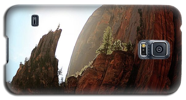 Red Rock At Zion Galaxy S5 Case
