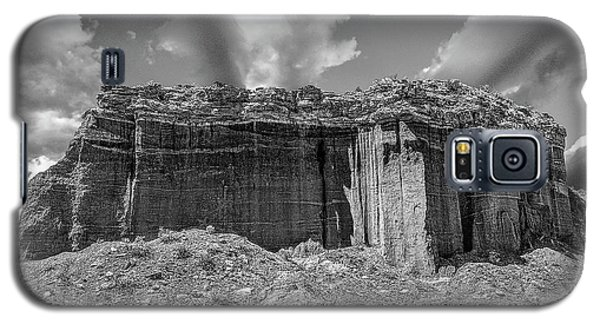 Red Rock Bw Galaxy S5 Case