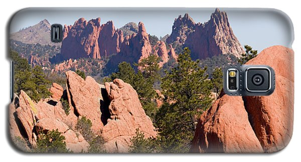 Red Rock Canyon Open Space Park And Garden Of The Gods Galaxy S5 Case