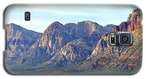 Galaxy S5 Case featuring the photograph Red Rock Canyon - Scale by Glenn McCarthy Art and Photography