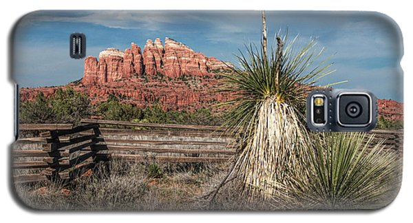 Galaxy S5 Case featuring the photograph Red Rock Formation In Sedona Arizona by Randall Nyhof