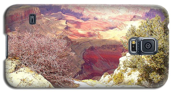 Galaxy S5 Case featuring the photograph Red Rock by Marna Edwards Flavell