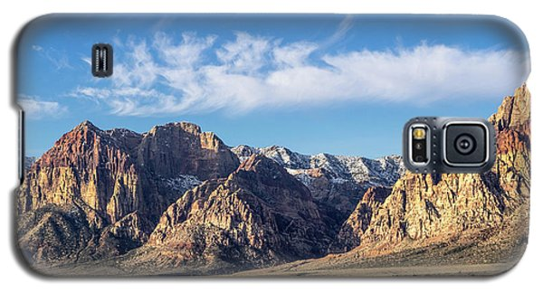 Red Rock Morning Galaxy S5 Case
