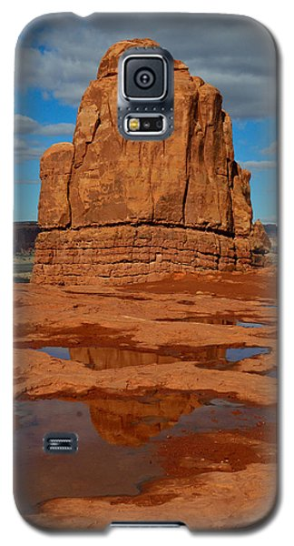 Red Rock Reflection Galaxy S5 Case