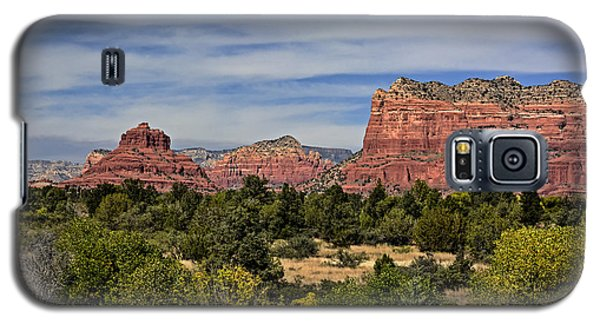 Red Rock Scenic Drive Galaxy S5 Case by John Gilbert