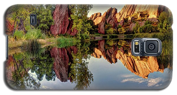 Red Rocks Reflection Galaxy S5 Case