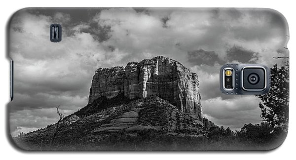 Galaxy S5 Case featuring the photograph Red Rocks Sedona Bnw 1 by David Haskett