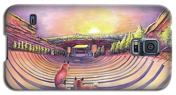 Red Rocks Sunrise Galaxy S5 Case