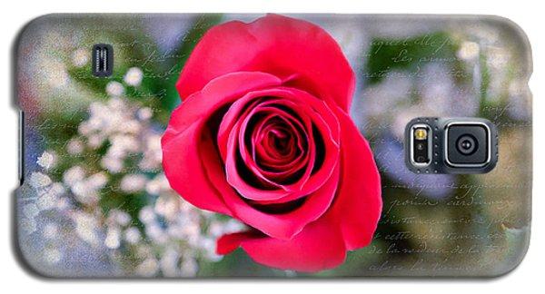 Red Rose Elegance Galaxy S5 Case