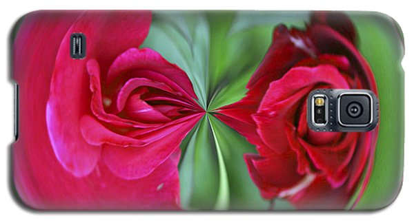 Red Rose Orb Galaxy S5 Case by Bill Barber