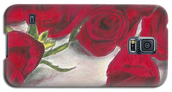 Red Rose Redux Galaxy S5 Case