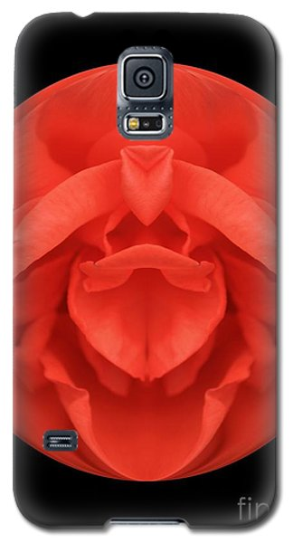 Red Rose Sphere Galaxy S5 Case