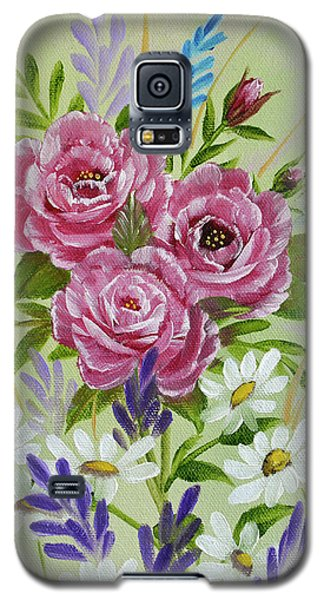 Red Roses Alla Prima Galaxy S5 Case