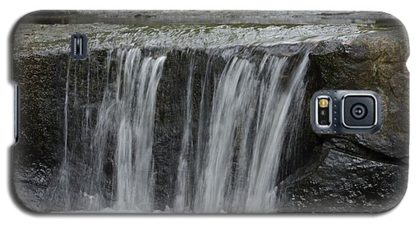 Galaxy S5 Case featuring the photograph Red Run Waterfall by Randy Bodkins