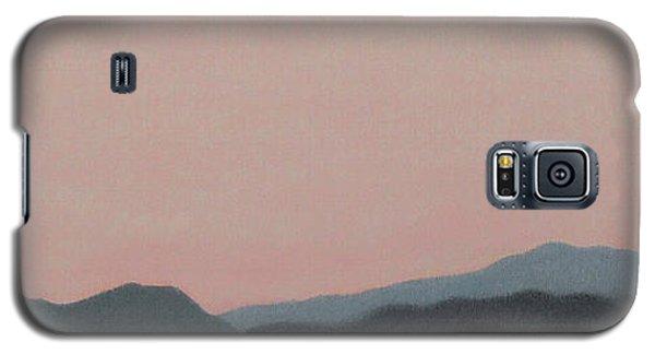 Red San Jacintos Galaxy S5 Case by Stan  Magnan