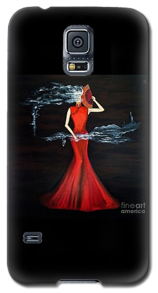 Scented Red Color Galaxy S5 Case by Fei A