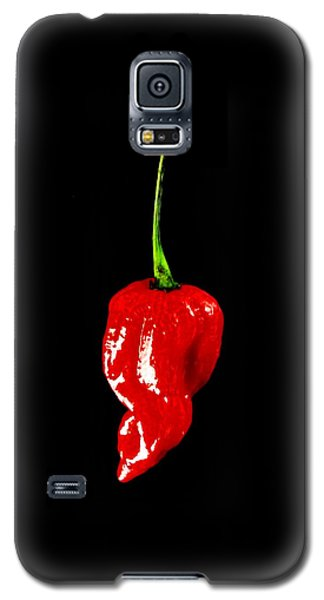 Galaxy S5 Case featuring the photograph Red Scorpion Chilli Pepper by Michael Canning