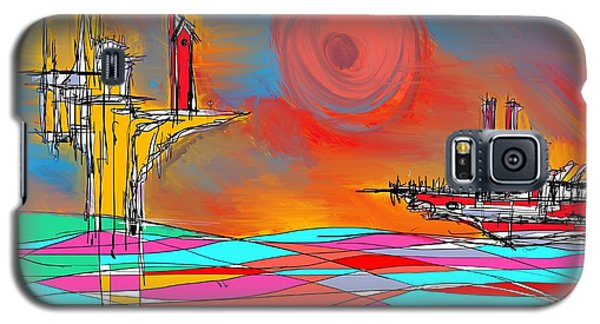 Red Sea Galaxy S5 Case