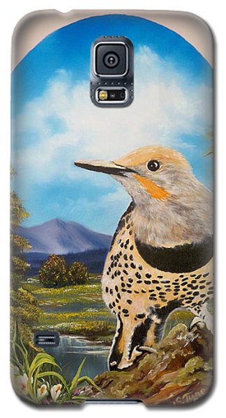 Red Shafted Flicker Galaxy S5 Case by Sigrid Tune