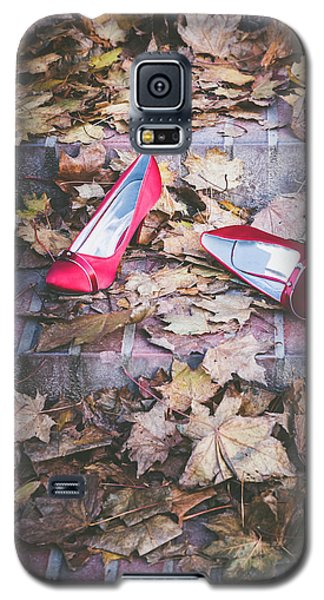 Red Shoes Galaxy S5 Case