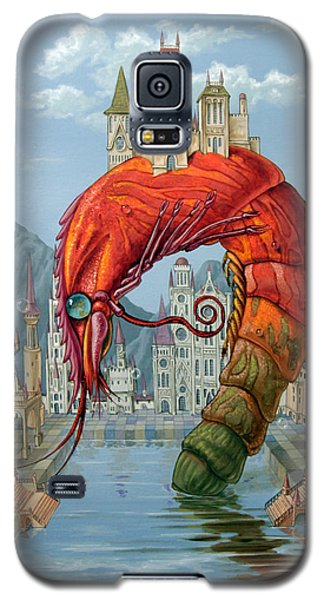 Red Shrimp Galaxy S5 Case