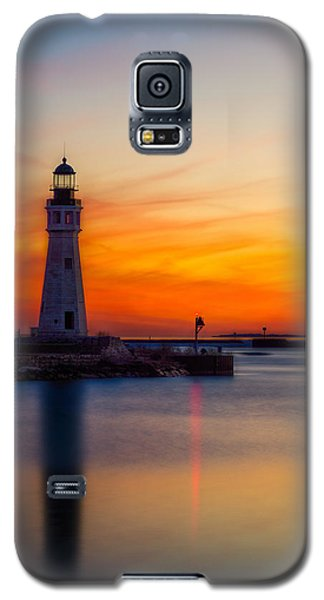 Red Skies At Night Galaxy S5 Case