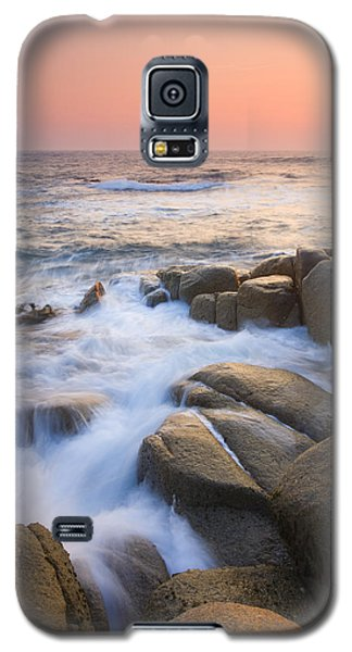 Red Sky At Morning Galaxy S5 Case by Mike  Dawson