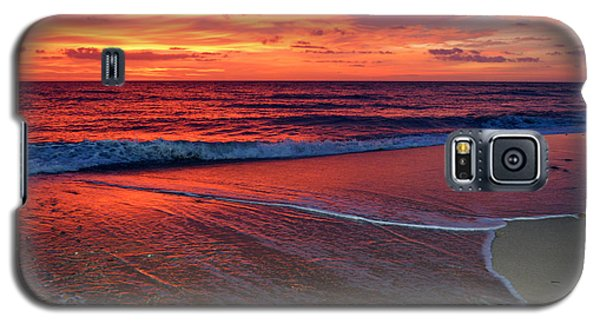 Red Sky In Morning Galaxy S5 Case
