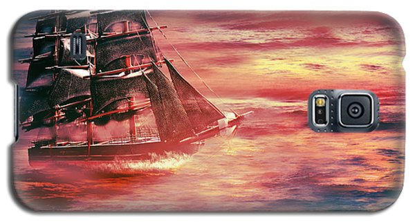 Red Sky In The Morning.... Sailors Take Warning Galaxy S5 Case