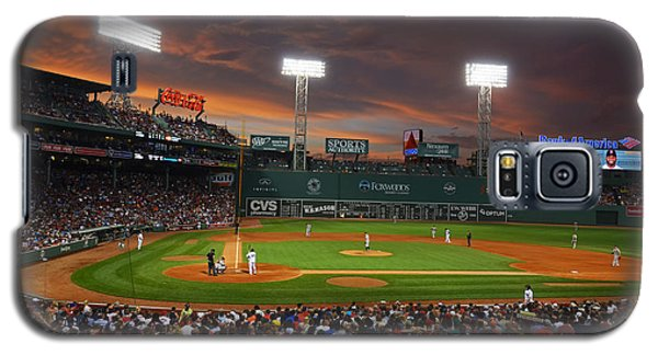 Red Sky Over Fenway Park Galaxy S5 Case