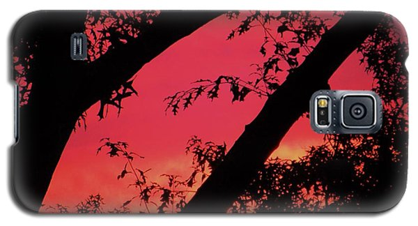 Galaxy S5 Case featuring the photograph Red Sky by Susan Carella