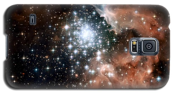Red Smoke Star Cluster Galaxy S5 Case