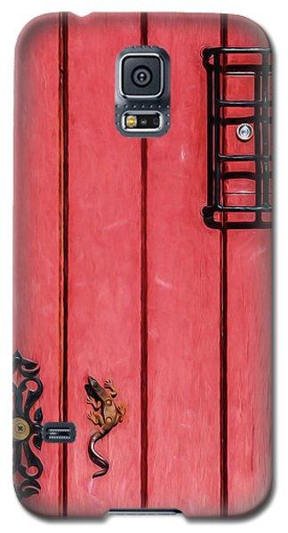 Red Speakeasy Door Galaxy S5 Case