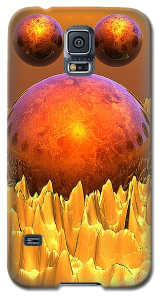 Red Spheres Galaxy S5 Case