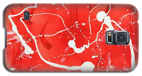 Red Spill Galaxy S5 Case