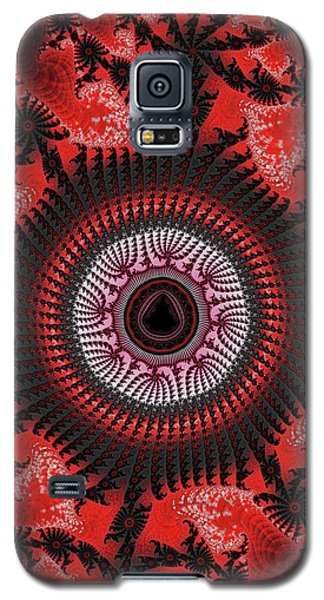 Red Spiral Infinity Galaxy S5 Case
