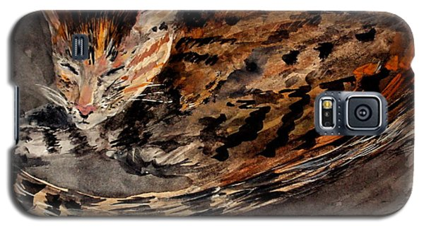 Red Spot Tabby Galaxy S5 Case