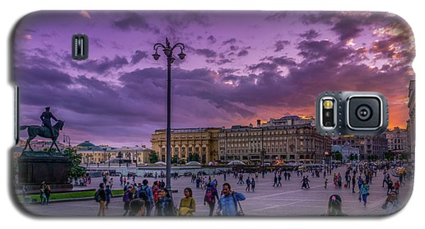 Red Square At Sunset Galaxy S5 Case
