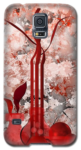 Red Stain Still Life Galaxy S5 Case