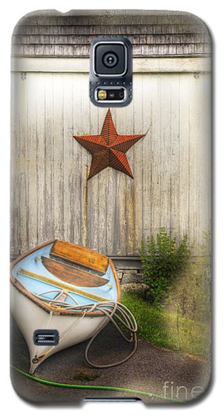 Red Star Boat Galaxy S5 Case