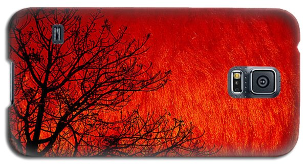Red Storm Galaxy S5 Case by Charuhas Images