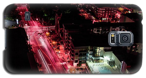 Red Streets Galaxy S5 Case
