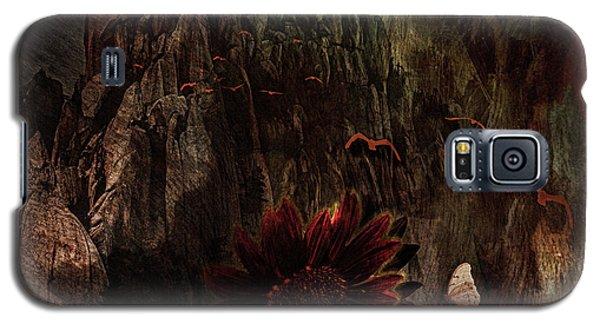 Red Sunflower Galaxy S5 Case