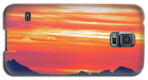 Red Sunrise Galaxy S5 Case