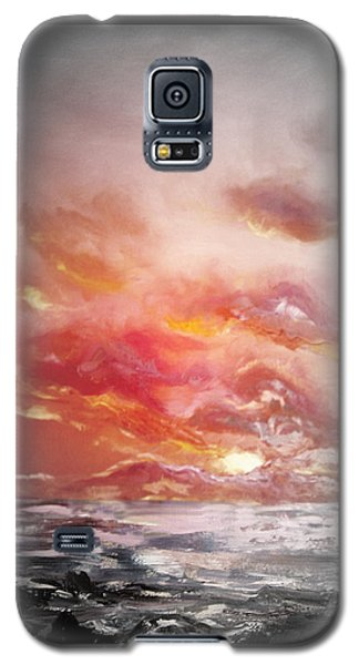 Red Sunset 77 Galaxy S5 Case