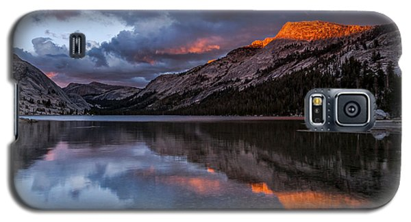 Red Sunset At Tenaya Galaxy S5 Case